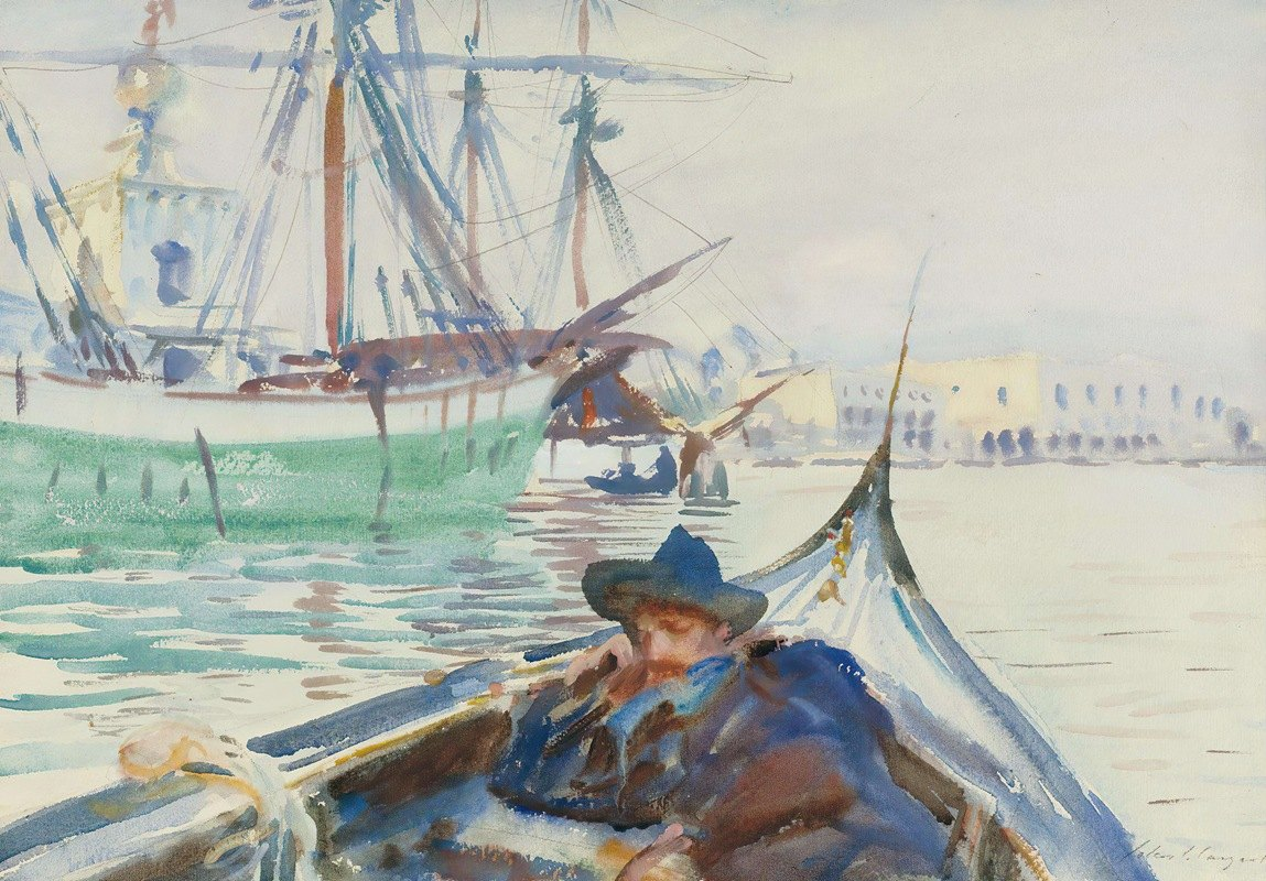 John Singer Sargent - Summer On The Giudecca