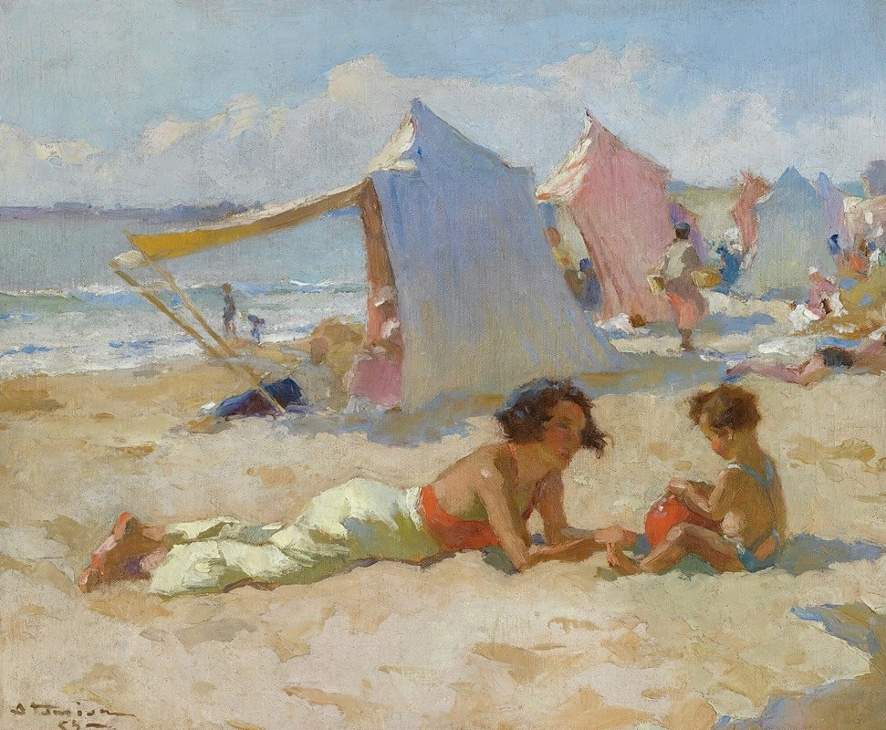 Charles Atamian - Playing On The Beach