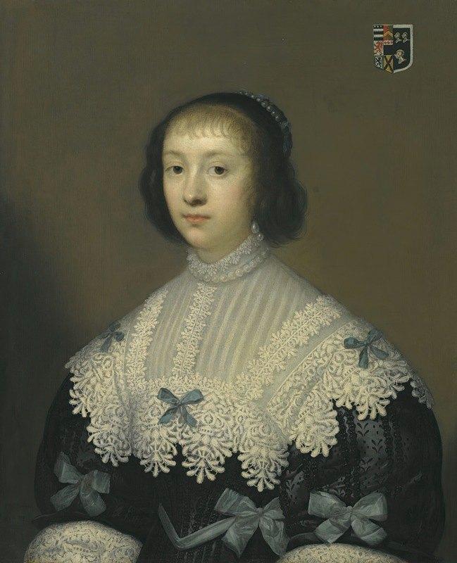 Cornelis Jonson van Ceulen - Portrait Of Margaret, Lady Hungerford
