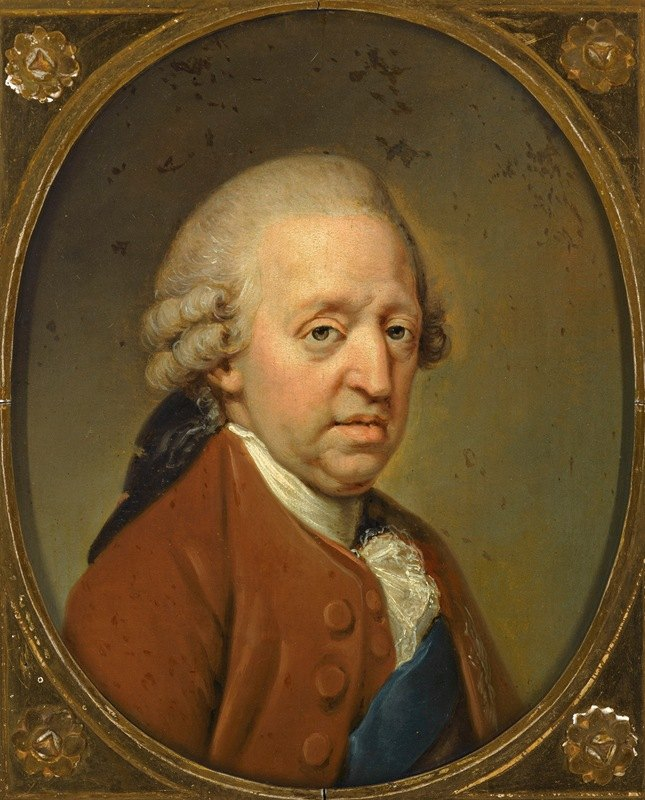Hugh Douglas Hamilton - Portrait of Prince Charles Edward Stuart, The Young Pretender (1720-1788)