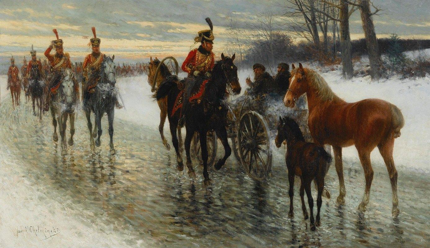 Jan Van Chelminski - Napoleonic Campaign