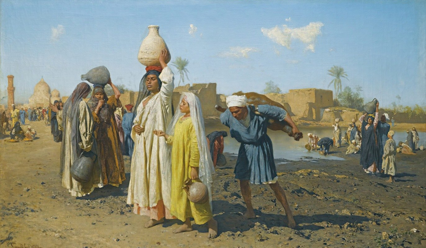 Leopold Carl Müller - TheWater Carriers