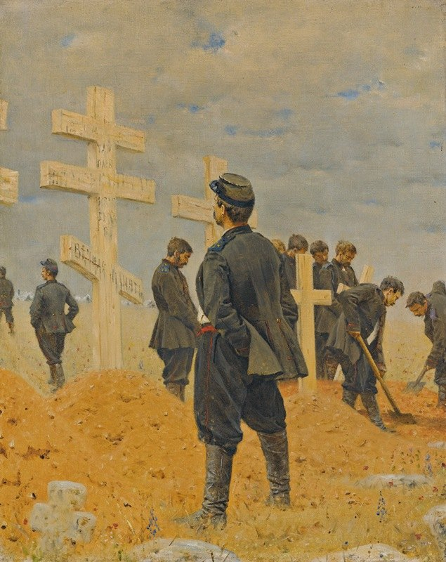 Vasily Vasilevich Vereshchagin - The Fallen Heroes