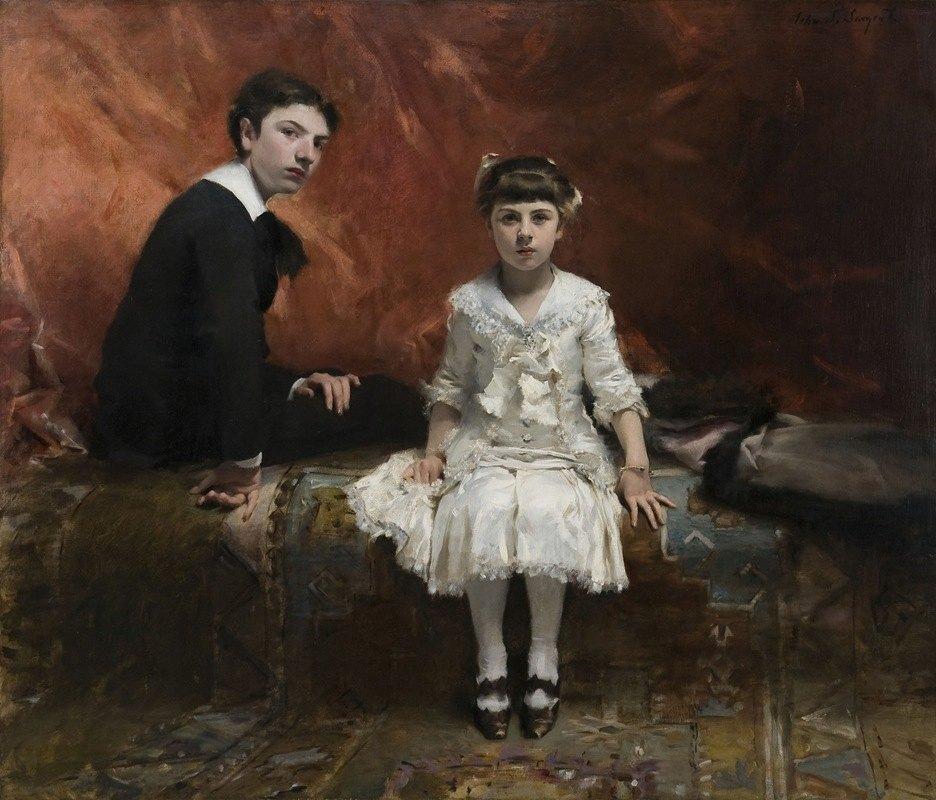 John Singer Sargent - Portrait of Édouard and Marie-Louise Pailleron