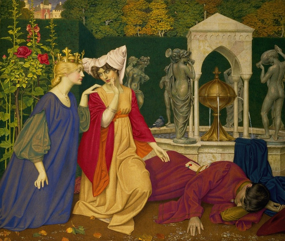 Joseph Edward Southall - Changing the Letter