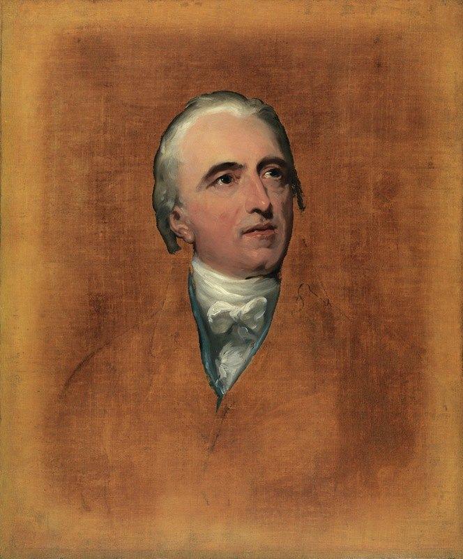 Sir Thomas Lawrence - Portrait Of Charles Binny (1747-1822)