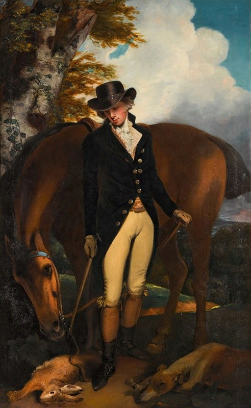 John Hoppner - Portrait of Thomas Norton Esq. (1760–1803) of Kingston Bowsey, Sussex