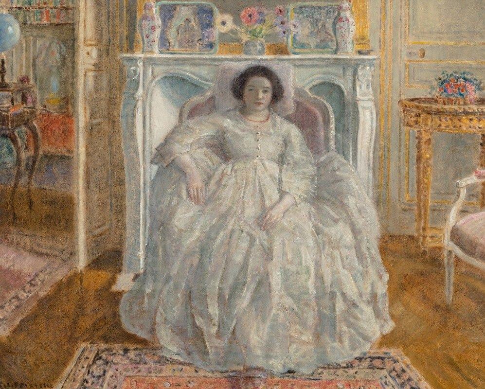 Frederick Carl Frieseke - The White Gown