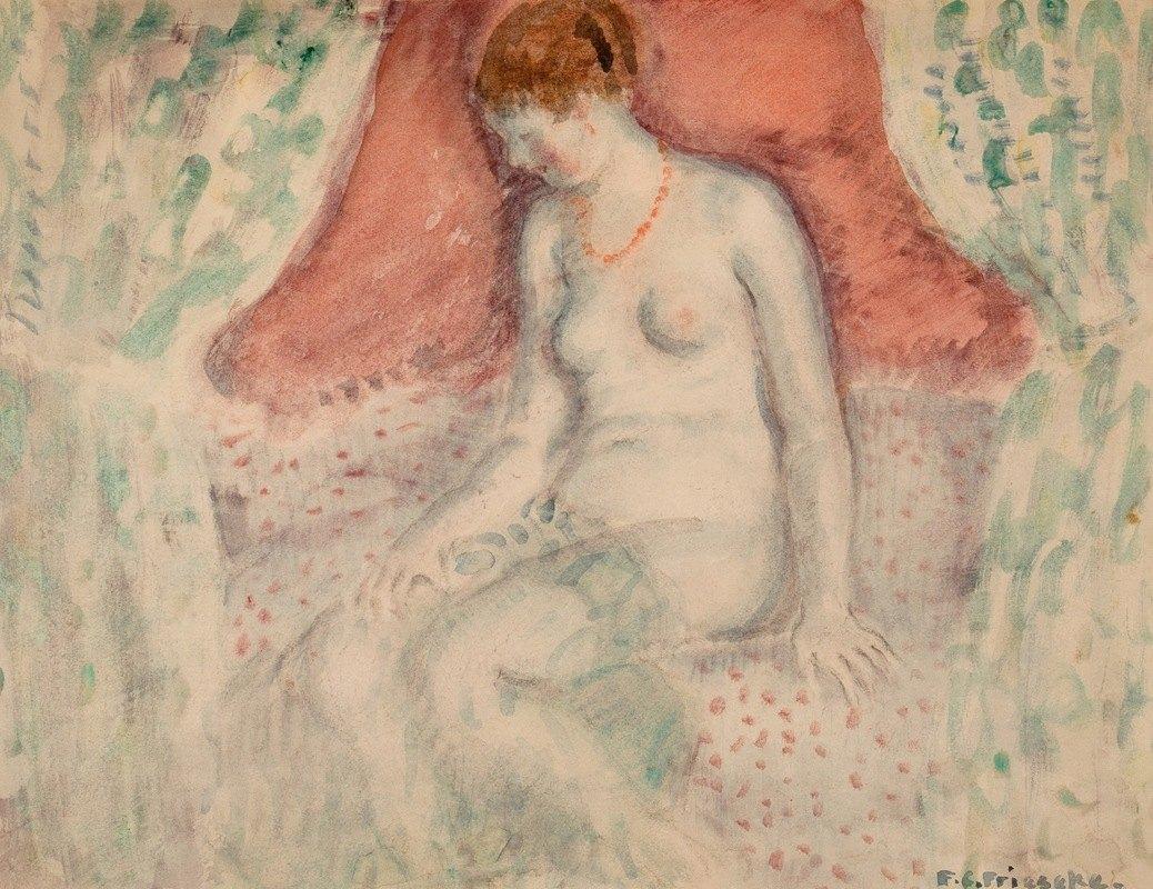 Frederick Carl Frieseke - Nude