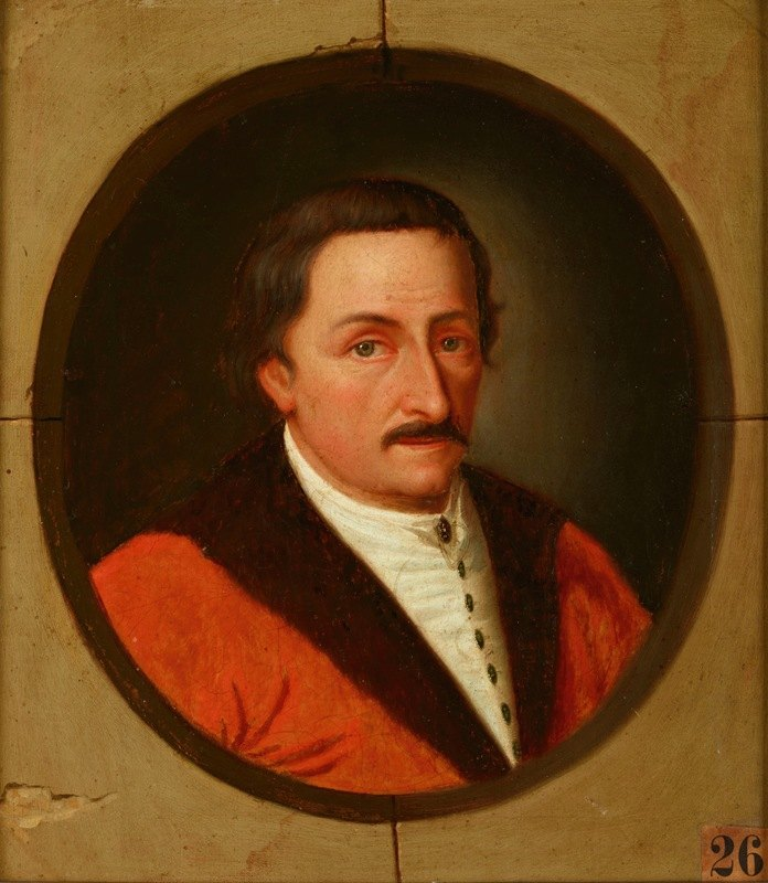 Friedrich Kloss - Portrait of Andrzej Maksymilian Fredro (ca. 1620–1678), Voivode of Podolia