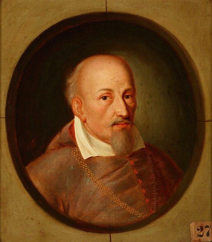 Friedrich Kloss - Portrait of Jakub Zadzik (1582–1642) Korab Coat of Arms, Bishop of Krakow