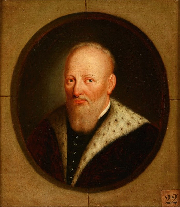 Friedrich Kloss - Portrait of Jan Tarnowski (1488–1561), Castellan of Krakow, Grand Hetman of the Crown