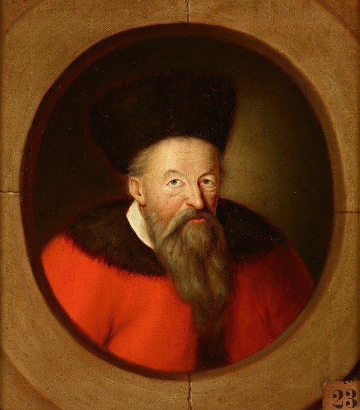 Friedrich Kloss - Portrait of Prince Konstanty Ostrogski (1460–1533), Castellan of Vilnius, Grand Hetman of Lithuania