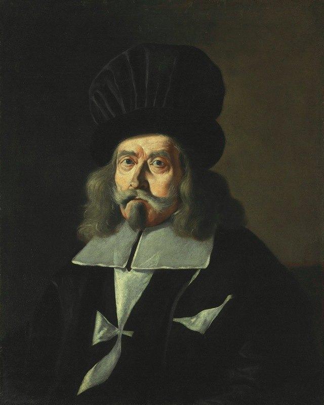 Mattia Preti - Portrait of a Grand Master of the Knights of Malta, Martin de Redin