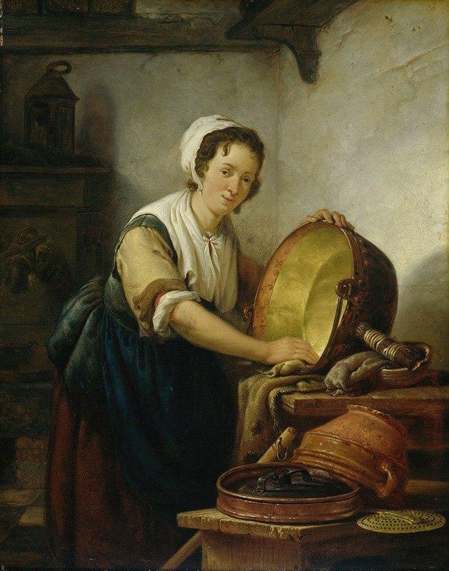 Abraham Van Strij - The Caldron Scrubber