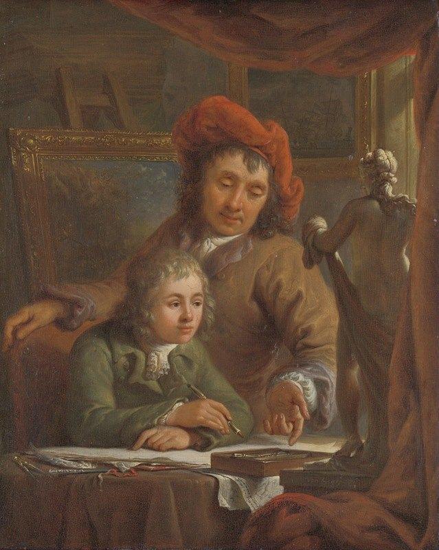 Abraham Van Strij - The Drawing Lesson