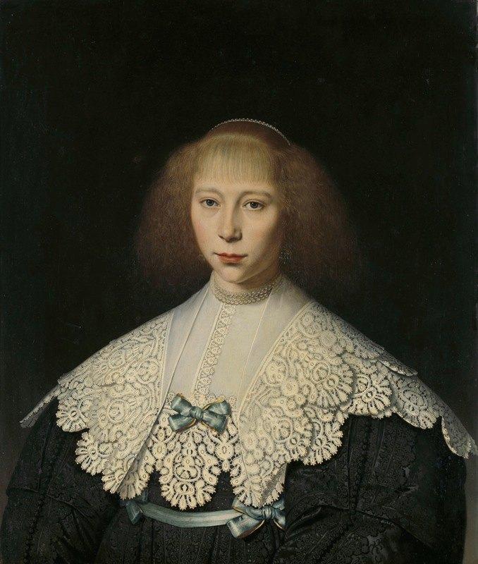 Dirck Dircksz. van Santvoort - Agatha Geelvinck (1617-38). First wife of Frederik Dircksz Alewijn