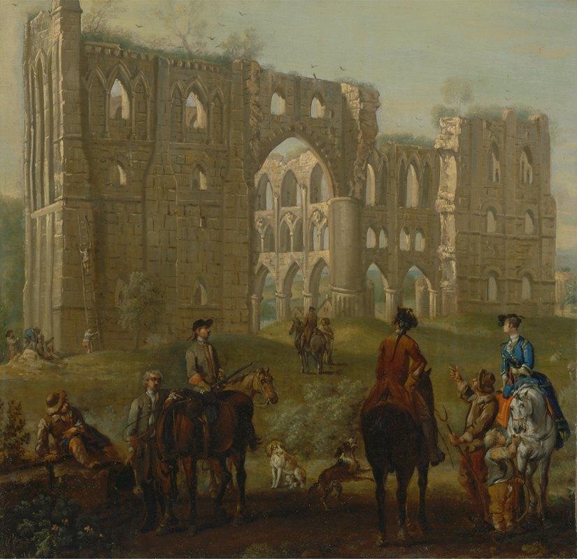 John Wootton - Rievaulx Abbey