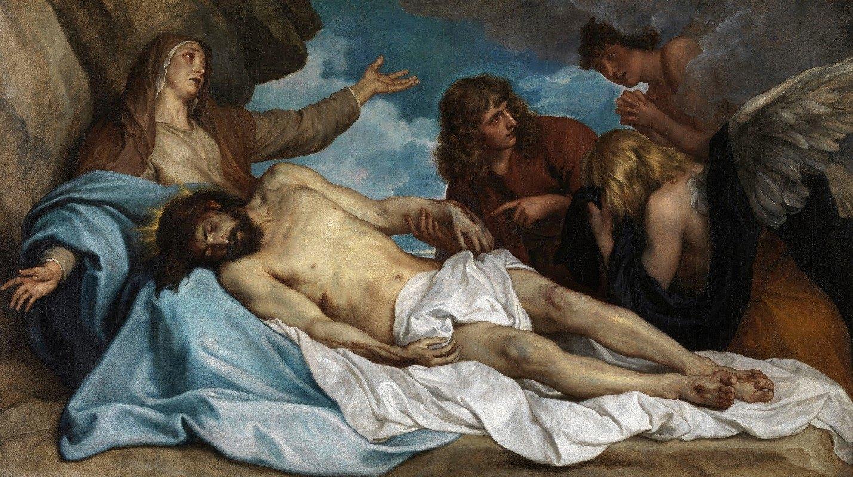 Anthony van Dyck - Lamentation of Christ
