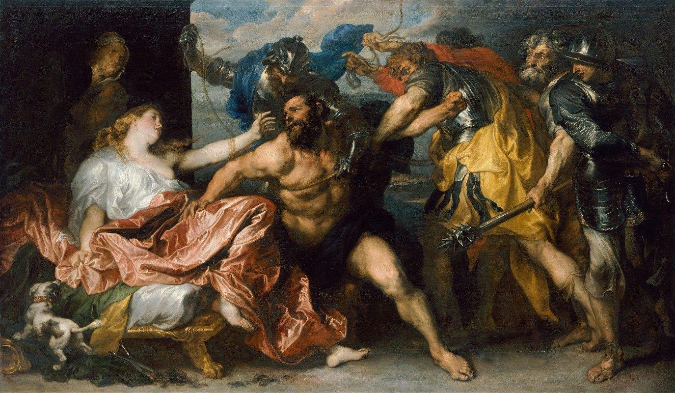 Anthony van Dyck - Samson and Delilah
