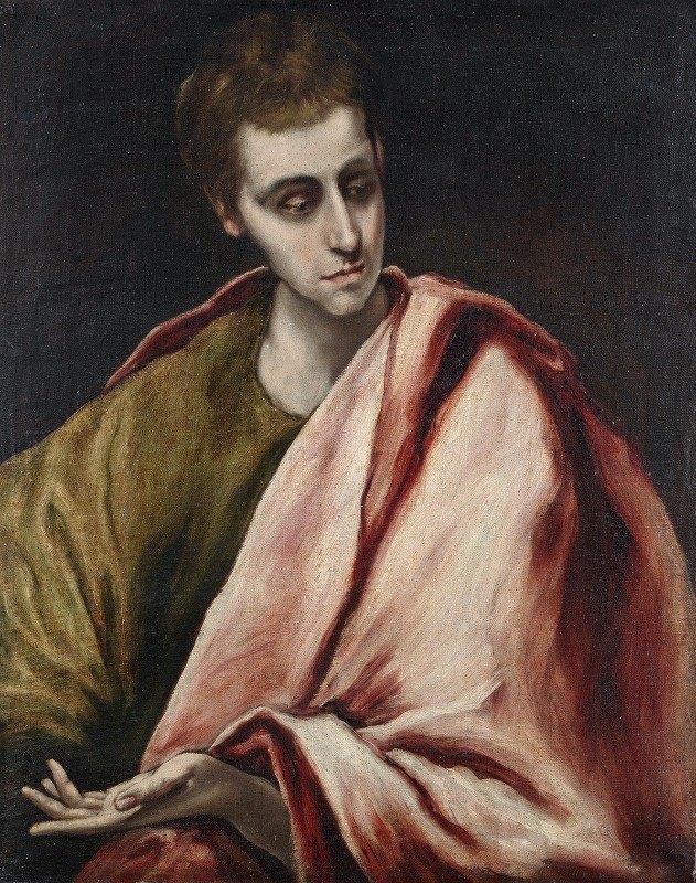 El Greco (Domenikos Theotokopoulos) - St. John