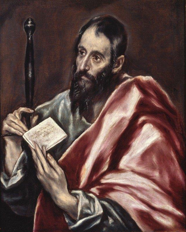 El Greco (Domenikos Theotokopoulos) - St. Paul