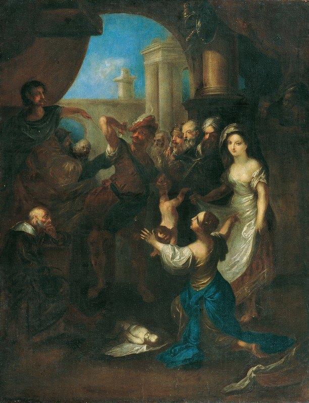 Franz Anton Maulbertsch - Solomon's judgment