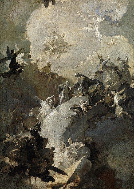 Franz Anton Maulbertsch - The Glorification of the Royal Hungarian Saints
