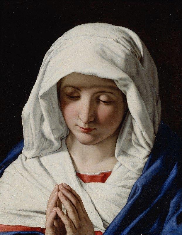 Giovanni Battista Salvi da Sassoferrato - The Virgin praying