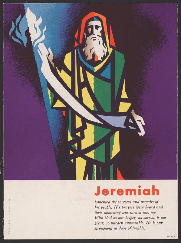 Joseph Binder - Jeremiah