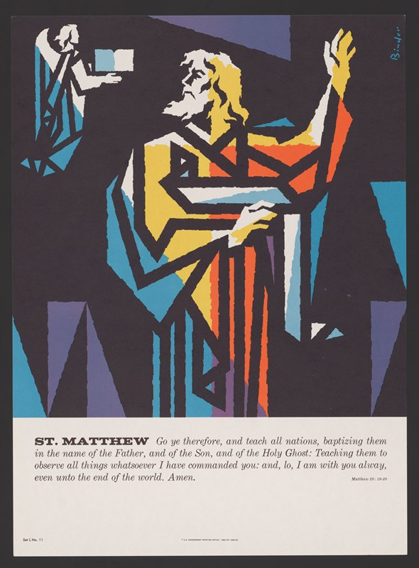 Joseph Binder - St. Matthew