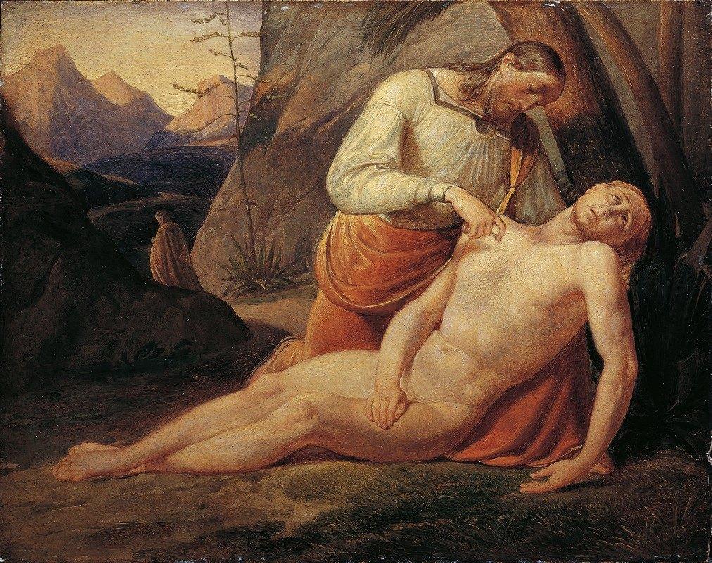 Joseph von Führich - The Good Samaritan