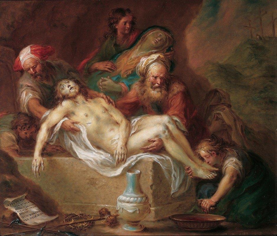 Martin Johann Schmidt - Entombment of Christ