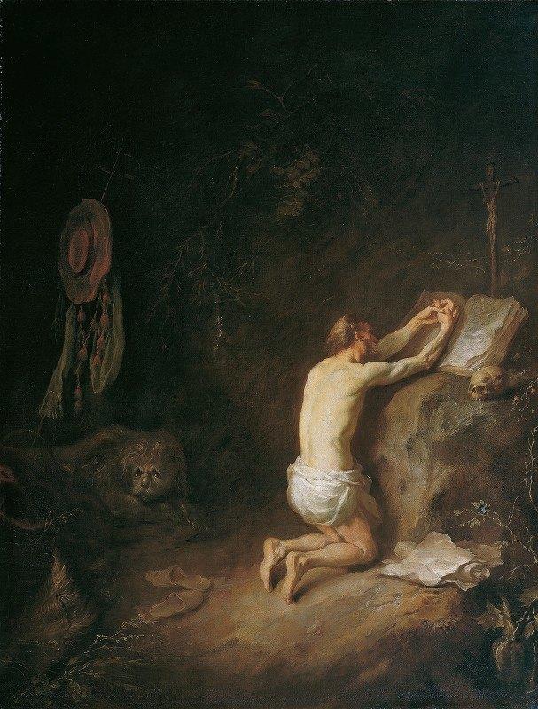 Martin Johann Schmidt - Saint Jerome