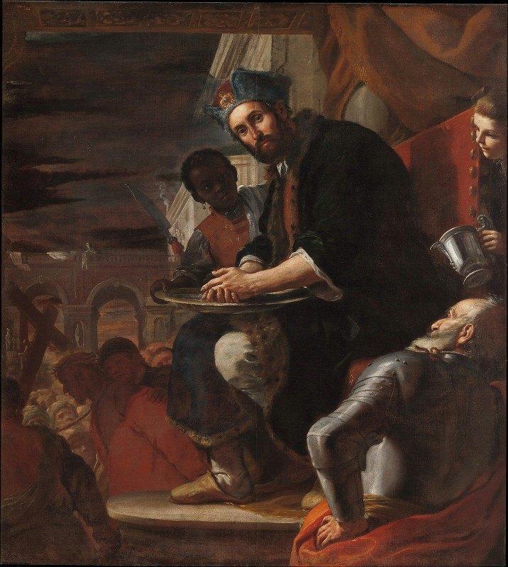 Mattia Preti - Pilate Washing His Hands
