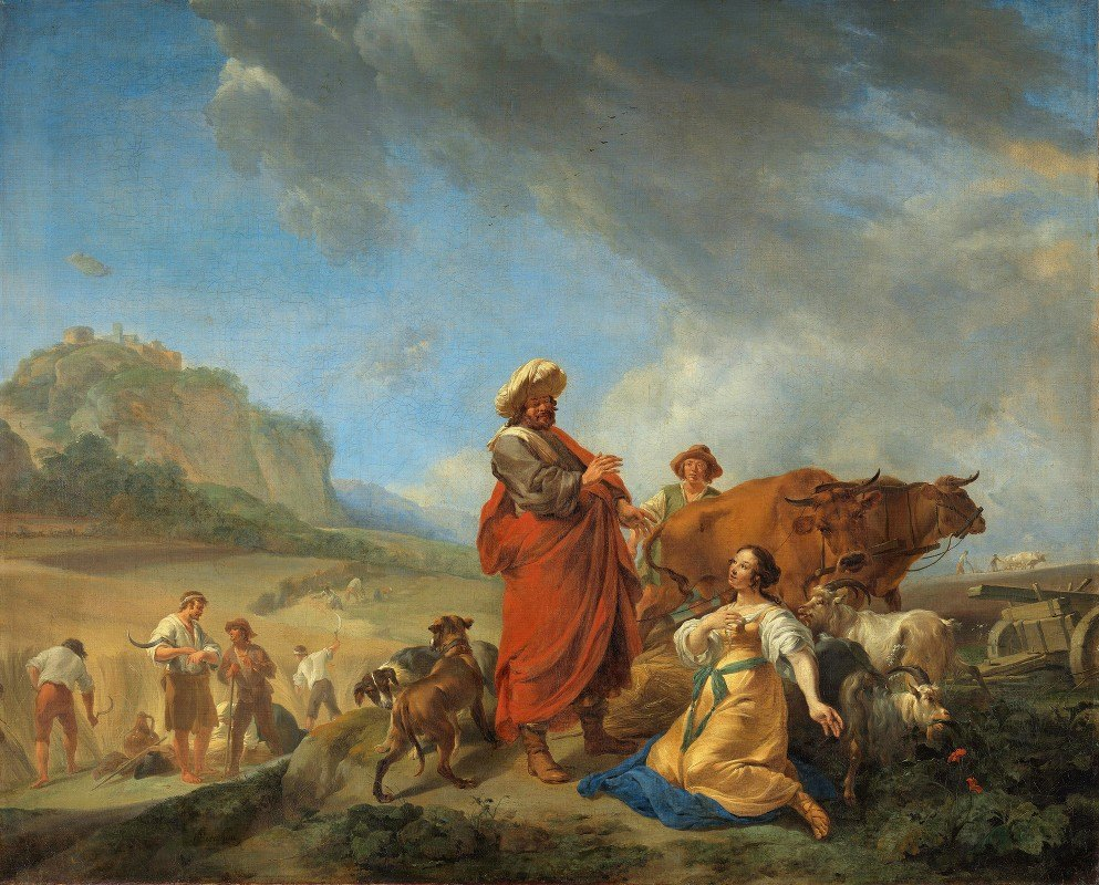 Nicolaes Pietersz. Berchem - Ruth and Boas