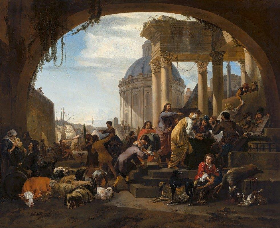 Nicolaes Pietersz. Berchem - The Calling of St Matthew