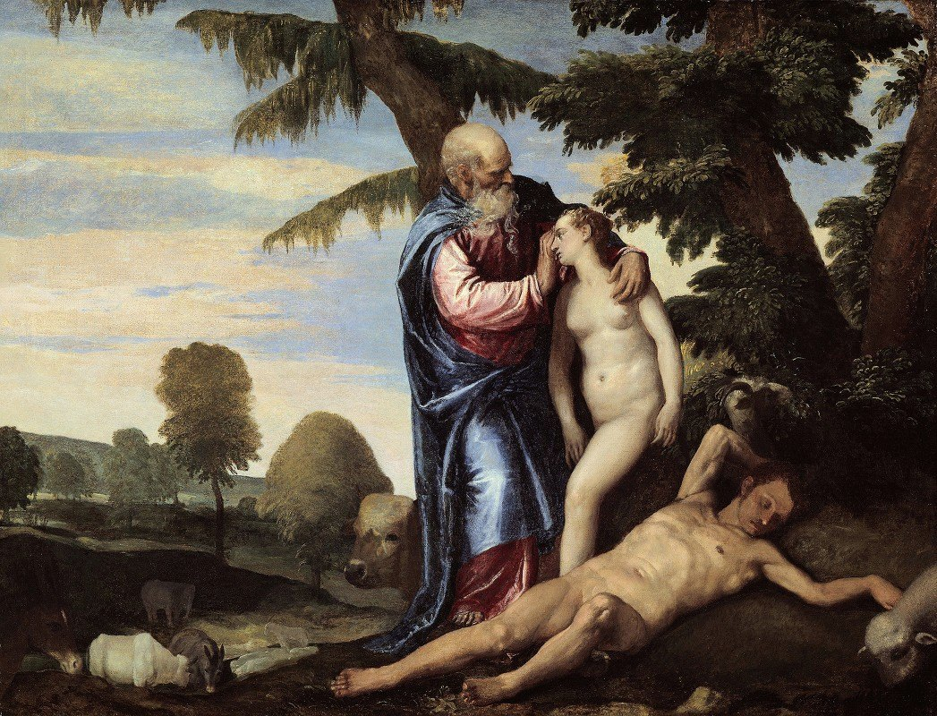 Paolo Veronese - The Creation of Eve