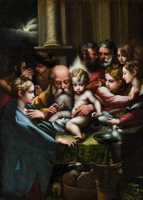 Parmigianino - The Circumcision