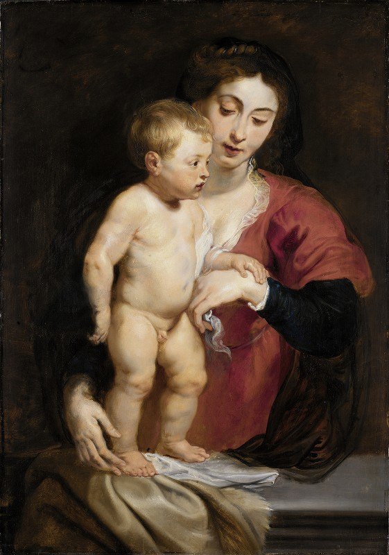 Peter Paul Rubens - Madonna and Child