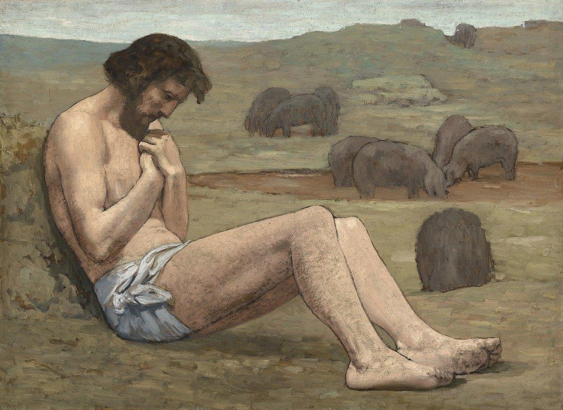Pierre Puvis de Chavannes - The Prodigal Son