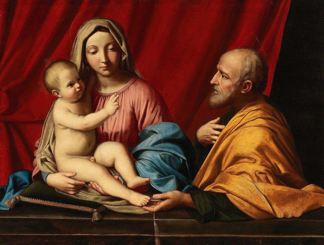 Giovanni Battista Salvi da Sassoferrato - The Holy Family