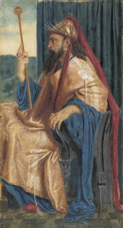 Simeon Solomon - King Solomon