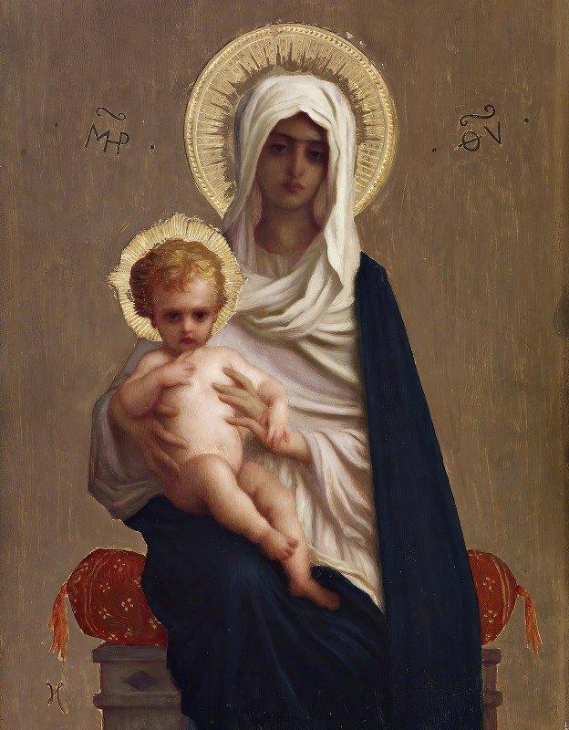 Ernest Hébert - Virgin Of The Deliverance