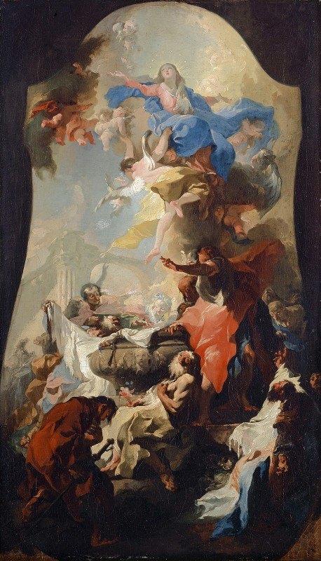 Franz Anton Maulbertsch - Ascension Of The Virgin