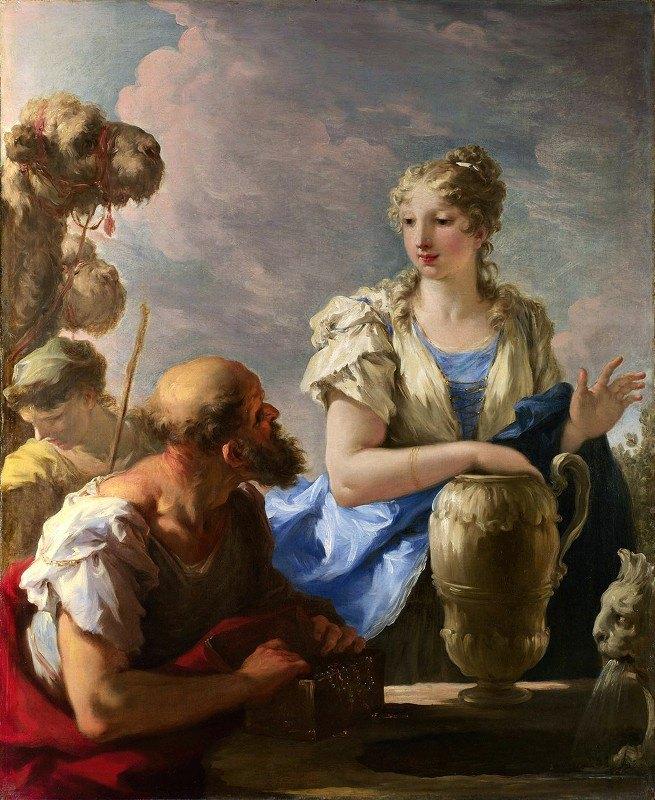 Giovanni Antonio Pellegrini - Rebecca At The Well