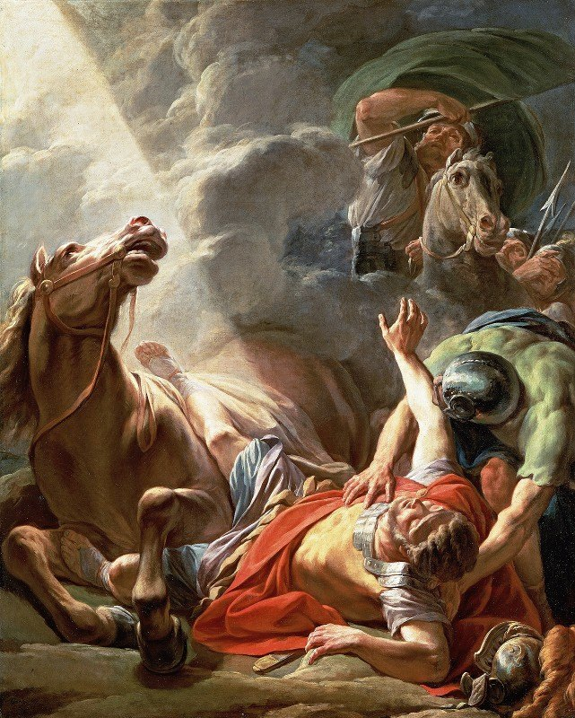 Nicolas Bernard Lépicié - The Conversion Of Saint Paul