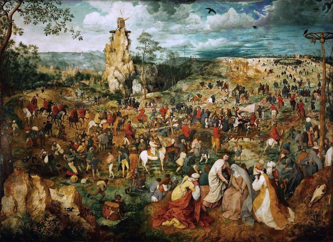 Pieter Bruegel The Elder - The Procession To Calvary