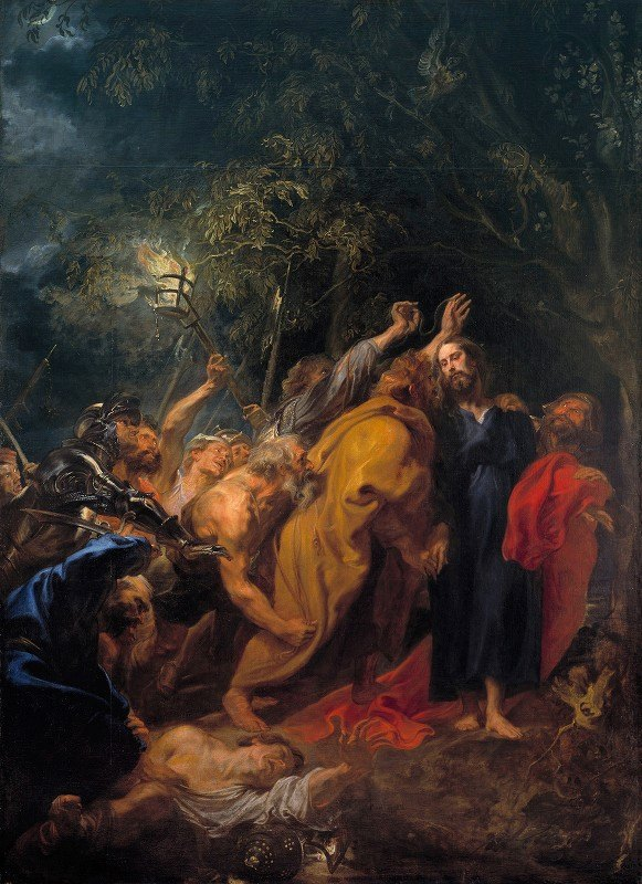 Anthony van Dyck - The Taking of Christ