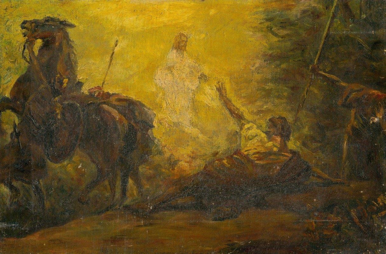 Árpád Feszty - Conversion Of Paul